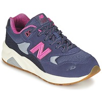 Shoes Girl Low top trainers New Balance KL580 Purple / Pink