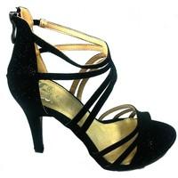 Shoes Women Sandals Cassis Côte d'Azur Sandales Multibrides ouvert Noir Oria Black