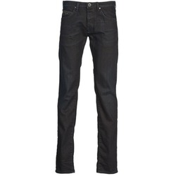 Clothing Men straight jeans Gas MITCH Blue / Dark
