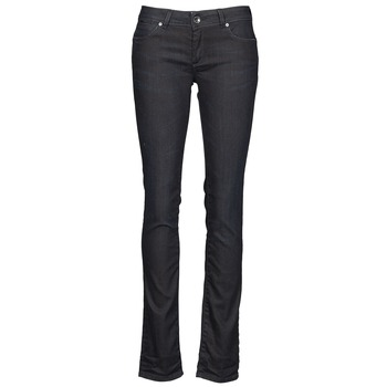 Clothing Women straight jeans Gas BRITTY Blue / Dark