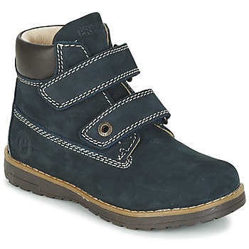 Shoes Boy Mid boots Primigi ASPY 1 Blue