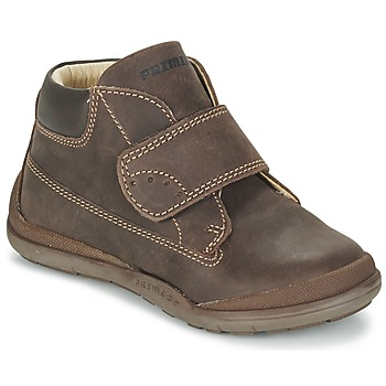 Shoes Boy Mid boots Primigi DEMIAN Brown
