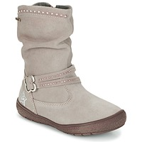 Shoes Girl High boots Primigi (enfant) CALISHA-E Taupe