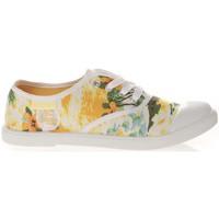 Shoes Women Low top trainers Cassis Côte d'Azur Cassis cote d'azur Basket Dyonise Jaune Yellow