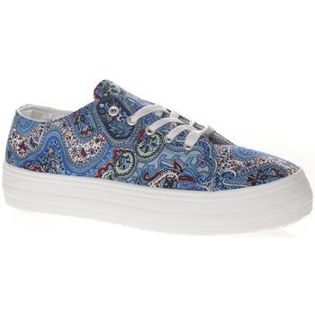 Shoes Women Low top trainers Cassis Côte d'Azur Cassis cote d'azur Basket Pablo Bleu Blue