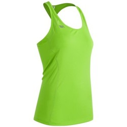 Clothing Women Tops / Sleeveless T-shirts New Balance WT61227TOX Yellow