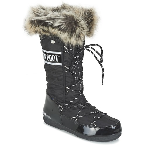 Shoes Women Snow boots Moon Boot MOON BOOT W.E. MONACO Black