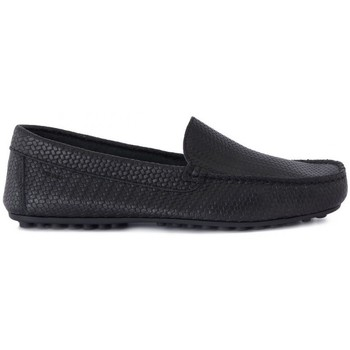 Shoes Men Loafers Frau BRIO TRECCIA NERO Nero