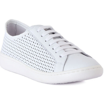 Shoes Women Low top trainers Keys SCARPA DONNA PELLE Bianco