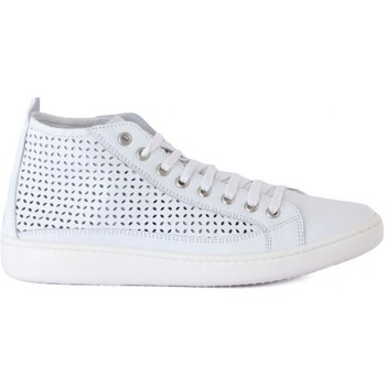 Shoes Women Hi top trainers Keys SCARPA DONNA MIDI Bianco