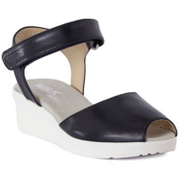 Shoes Women Sandals Melluso SANDALO ARC NOTTE Blu