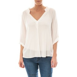 Clothing Women Tops / Blouses Barcelona Moda Top Billy Blanc White