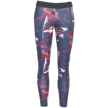 Clothing Women leggings adidas Originals FLOWER TIGHT Black / Pink