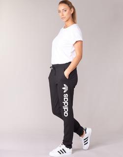 Clothing Women Tracksuit bottoms adidas Originals LIGHT LOGO TP Black