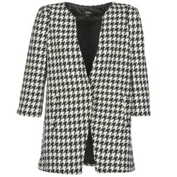 Clothing Women coats Mexx FENCAMP Black / White