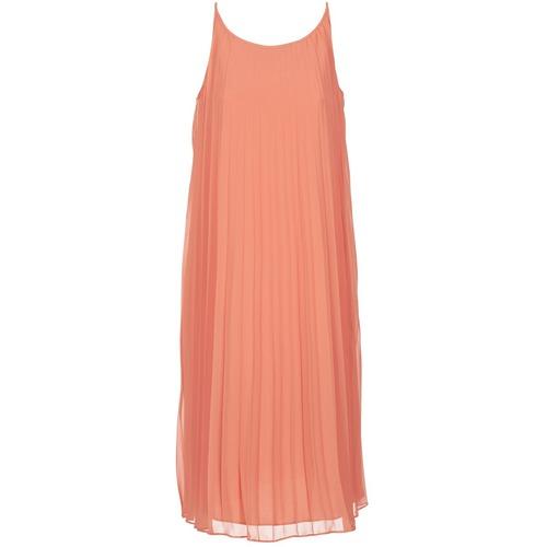 Clothing Women Long Dresses BCBGeneration 616757 Coral