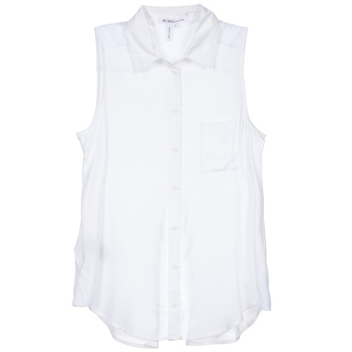 Clothing Women Shirts BCBGeneration 616953 White