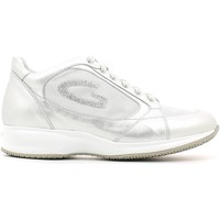 Shoes Women Low top trainers Alberto Guardiani SD56371B Shoes with laces Women Silver Silver
