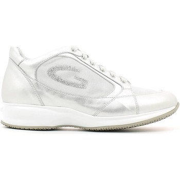 Shoes Women Low top trainers Alberto Guardiani SD56371B Shoes with laces Women Argento