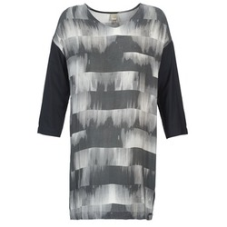 Clothing Women Short Dresses Bench CRISP Black / Grey