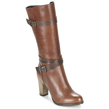 Shoes Women High boots Lola Espeleta REINETTE COGNAC