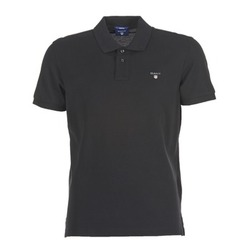 Clothing Men short-sleeved polo shirts Gant THE ORIGINAL PIQUE SS RUGER Black