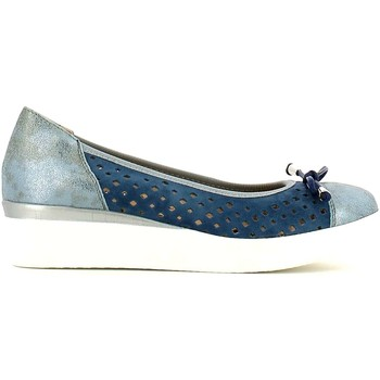 Shoes Women Flat shoes Grunland SC1784 Ballet pumps Women Blue Blue