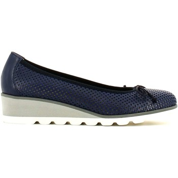 Shoes Women Flat shoes Grunland SC2267 Ballet pumps Women Blue Blue