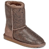 Shoes Women Mid boots EMU STINGER PRINT LO Grey