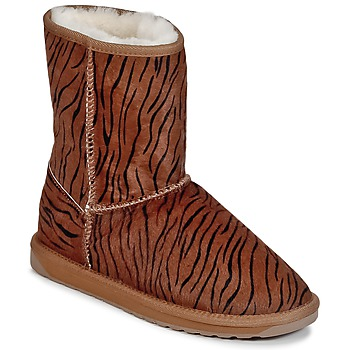 Shoes Women Mid boots EMU STINGER FUR LO Tiger