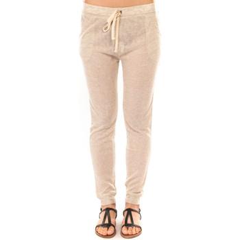 Clothing Women Tracksuit bottoms Sweet Company Pantalon American Vitrine Perle BLV02 Beige