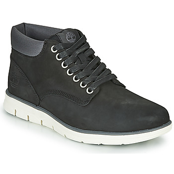 Shoes Men Hi top trainers Timberland BRADSTREET CHUKKA LEATHER Black