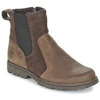 Shoes Children Mid boots Timberland ASPHALT TRAIL CHELSEA Brown