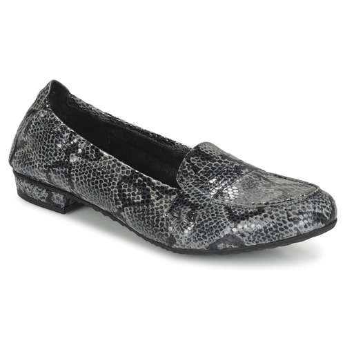 Shoes Women Loafers Regard REMAVO Grey / Python