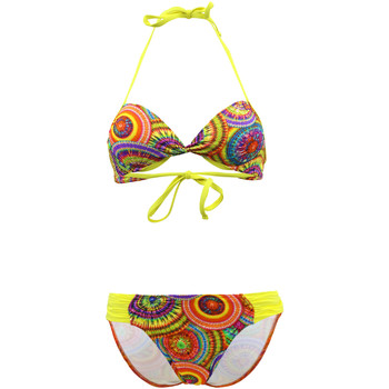 Clothing Girl Bikinis Lolita Angel 2 Pieces Multicolor Children Balconnet Swimsuit Playa Link Sunn MULTICOLOUR