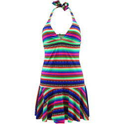 Clothing Women Short Dresses Lolita Angel Multicolor Beach Dress Acapulco Smile MULTICOLOUR