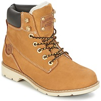 Shoes Women Mid boots Dockers by Gerli ESSINIA Beige