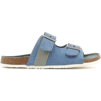 Shoes Men Mules Gaudi V61-64770 Sandals Man Jeans