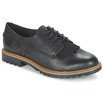Shoes Women Derby Shoes Clarks GRIFFIN MABEL Black