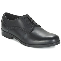 Shoes Men Derby Shoes Clarks BROCTON WALK Black