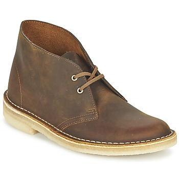 Shoes Women Ankle boots Clarks DESERT BOOT Brown