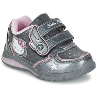 Shoes Girl Low top trainers Hello Kitty FANELY LIGHT Grey