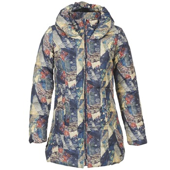 Clothing Women Duffel coats Smash BOMBON Multicoloured