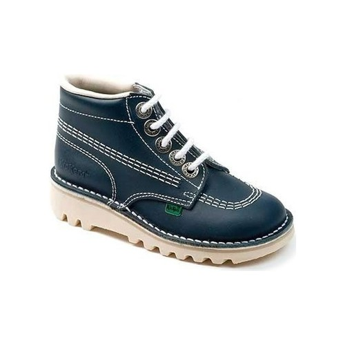 Shoes Children Boots Kickers Chi Lace Up Ankle Boot blue