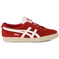 Shoes Women Low top trainers Asics ONITSUKA TIGER MEXICO DELEGATE Rosso