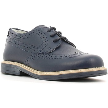 Shoes Boy Derby Shoes Crazy MK2495D6E.V Lace-up heels Kid Blue Blue