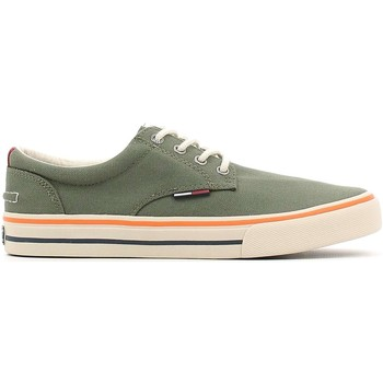 Shoes Men Low top trainers Tommy Hilfiger EM56820815 Sneakers Man Olive Olive