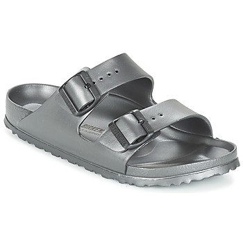Shoes Women Mules Birkenstock ARIZONA-EVA Grey