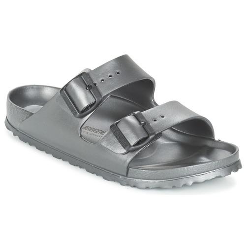 Shoes Women Mules Birkenstock ARIZONA-EVA Grey