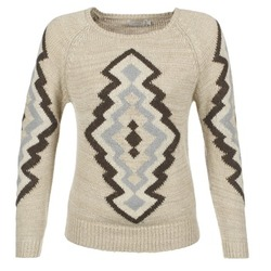 Clothing Women Jumpers Cream CARME Beige